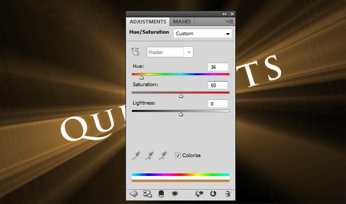 3dtexteffect13 Работа с текстом в Photoshop: 3D рассеивающиеся пучки света вокруг текста