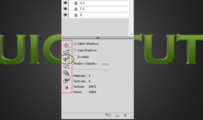 3d text effect 10 Работа с текстом в Photoshop: Создание 3D текста, используя возможности CS5