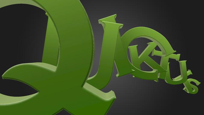 3d text effect 13 Работа с текстом в Photoshop: Создание 3D текста, используя возможности CS5