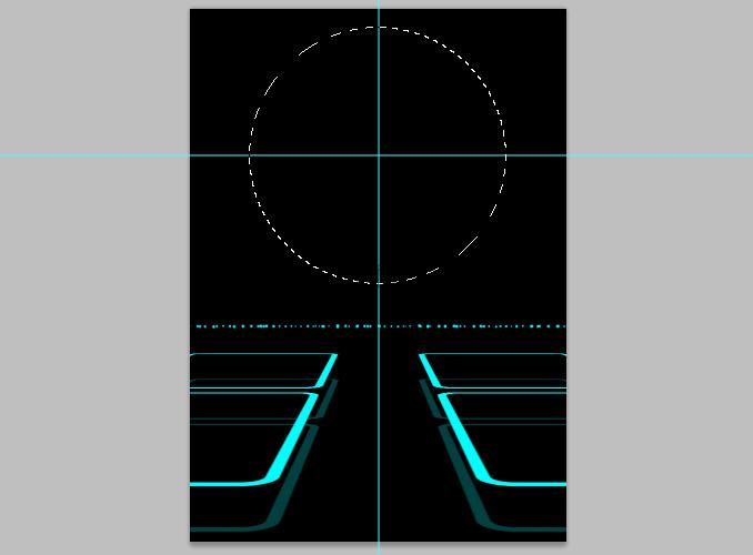 TRON Legacy poster 16 Дизайн в Photoshop: Создание плаката в стиле фильма Трон: Наследие