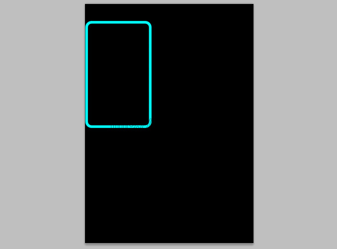TRON Legacy poster 4 Дизайн в Photoshop: Создание плаката в стиле фильма Трон: Наследие