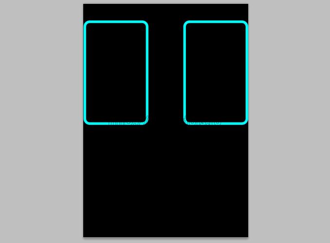 TRON Legacy poster 5 Дизайн в Photoshop: Создание плаката в стиле фильма Трон: Наследие