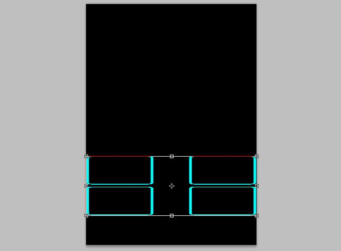 TRON Legacy poster 7 Дизайн в Photoshop: Создание плаката в стиле фильма Трон: Наследие