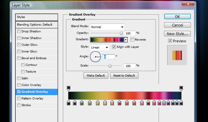 cvetnye oboi dlya rabochego stola 5 Дизайн в Photoshop: Быстрое создание цветных обоев для рабочего стола
