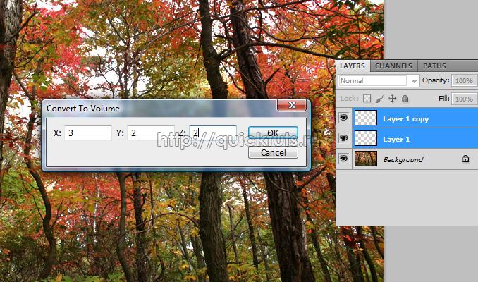 luchi sveta 4 Эффекты в Photoshop: Создаем реалистичные лучи света с помощью инструментов 3D
