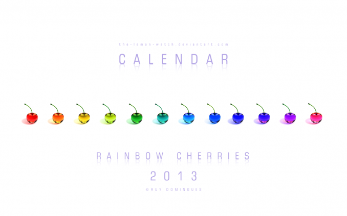rainbow_cherries___2013_calendar_by_the_lemon_watch-d5kov62